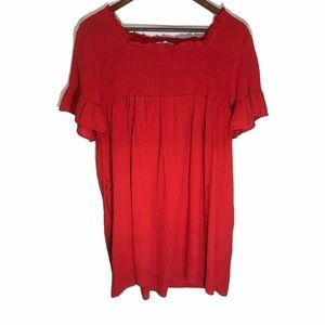 Women's Urban Outfitters Entro Short Sleeve Dress